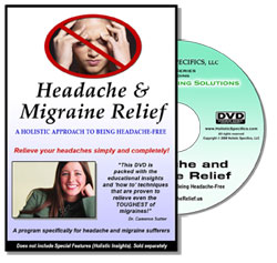 headache and migraine relief video dvd